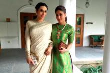 Look of the day: Sisters Karisma, Kareena  Kapoor serve up pure glamour in Sabyasachi and Payal Khandwala
