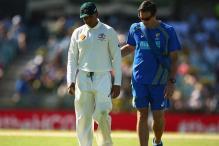 Australia batsman Usman Khawaja suffers hamstring injury