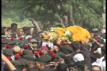 Last rites of braveheart Colonel Santosh Mahadik, martyred while battling terrorists in J&K, performed in Satara