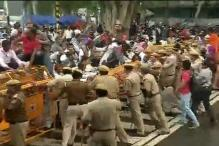 Sanitation workers protest against Delhi government, MCD at Rajghat