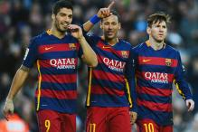 La Liga: Barcelona thrash Real Sociedad; Atletico Madrid remain second