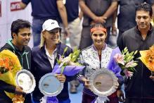 Sania Mirza-Mahesh Bhupathi beat Leander Paes-Martina Navratilova at Tennis Masters