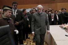 Modi meets Abe; discusses maritime security, South China Sea disputes