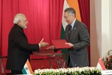 Modi meets Singapore PM, President; pacts inked on defence ties