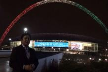 Wembley lights up to welcome PM Modi