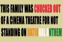 Watch:Family chucked out of a cinema theatre for not standing on National Anthem