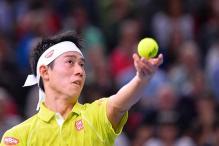 Kei Nishikori retires in Paris Masters ahead of Tour finals