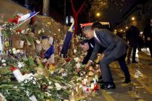 Barack Obama, Francois Hollande pay respects to Paris attack victims