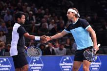 Leander Paes- Rafael Nadal lose in Paris Masters
