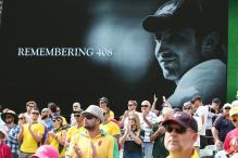 Tribute in Adelaide marks first anniversary of Phil Hughes' death