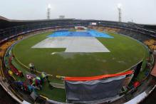 2nd Test: Rain halts India's charge, day two washed out