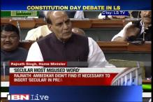 'Secular' most misused word in Indian politics: Rajnath