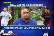 Real Madrid legend Roberto Carlos previews El Clasico
