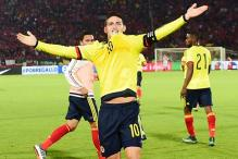 James Rodriguez snatches 1-1 draw for Colombia against Chile