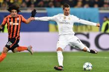 Champions League: Cristiano Ronaldo stars as Real Madrid repel strong Shakhtar Donetsk rally