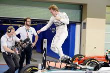 Mercedes' Nico Rosberg wins the season-ending Abu Dhabi GP 2015