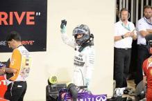Mercedes' Nico Rosberg takes pole for Abu Dhabi GP, ahead of Lewis Hamilton
