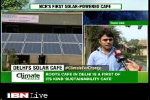 Roots Cafe - India's first solar powered cafe
