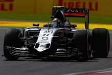 Force India's Sergio Perez to start 9th at Mexico GP