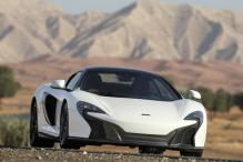 The 650S Spider Al Sahara 79, super supercar with gold paintwork unveiled