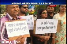 Environment activists, citizens raise awareness on importance of cracker-free Diwali in Jaipur
