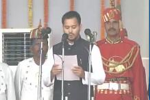 Watch: Lalu's sons take oath as ministers in Nitish Kumar cabinet
