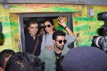 Ranbir Kapoor, Deepika Padukone together board train to Delhi to promote 'Tamasha'