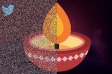 Did you tweet with #HappDiwali? Find yourself in Twitter's after-Diwali diya mosaic