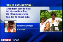BJP's Kailash Vijayvargiya comes under sharp criticism for saying 'Shah Rukh lives in India, but his soul is in Pakistan'