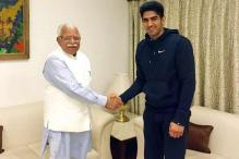 Vijender Singh meets Haryana CM, offers support to sports schemes