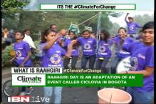 Green Warriors working hard to create awareness about climate change