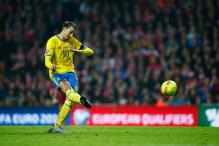 Zlatan Ibrahimovic double helps Sweden qualify for Euro 2016