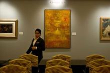 Indian painting by Vasudeo S.Gaitonde sells for record Rs 293 million at Christie's auction
