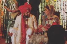 Rohit Sharma ties the knot with Ritika Sajdeh; Sachin Tendulkar, Yuvraj Singh, Sonakshi Sinha attend the wedding