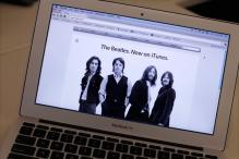 The Beatles, now available on streaming music