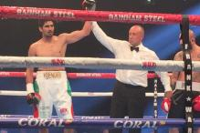 Vijender beats Hyuseinov via Technical Knockout to win his third bout in a row
