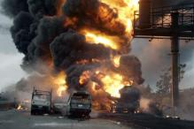 Gas tanker truck fire kills more than 100 people in Nigeria on Christmas Eve