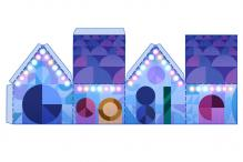 Tis the season! Google's 2nd holidays 2015 doodle is a 4-doodle papercraft doodle
