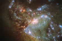 See: Hubble captures merging of two galaxies for the first time ever