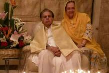 Photo of the day: Dilip Kumar celebrates 93rd birthday with wife Saira Banu
