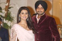 Shahrukh Khan, MS Dhoni, Bachchans attend Geeta Basra and Harbhajan Singh's wedding party at Ambani residence