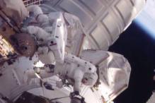 NASA astronauts successfully fix ISS rail car in unscheduled spacewalk