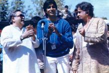 Amitabh Bachchan shares a throwback photograph with Raj Kapoor, Shashi Kapoor