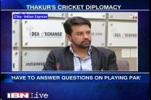 Need to diplomatically take a decision on Indo-Pak series: Anurag Thakur