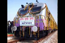 Train to Atal Bihari Vajpayee's village 16 years after he laid foundation