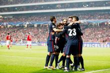 Champions League: Atletico Madrid top Group C after win over Benfica