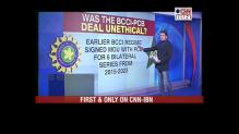 First revealed on CNN-IBN: The 'unethical' BCCI-PCB deal