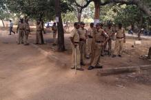 Beefed-up security spoils beef and pork festival at Osmania University in Hyderabad