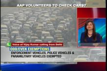 Odd-even plan: Should volunteers be allowed to check vehicles?