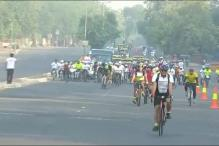 Car-Free Day observed in East Delhi today